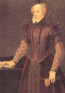 Barbara of Austria by Francesco Terzio. In the collections of the Kunsthistorisches Museum, Vienna.