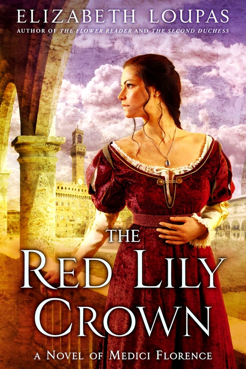 The Red Lily Crown Cover Smaller